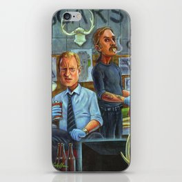True Detective: Marty Hart and Rust Cohle iPhone Skin