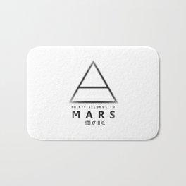 30 Seconds to Mars - stencil Bath Mat