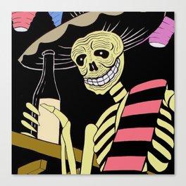 Day of the Dead/Dia de los Muertos Canvas Print
