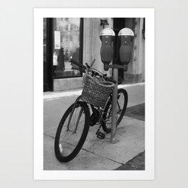 Obvious Bicycle Art Print