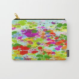 Paint Splattered Sky Carry-All Pouch