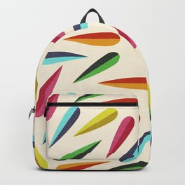 Feathers II Cascading Colors Backpack