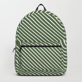 Kale Stripe Backpack