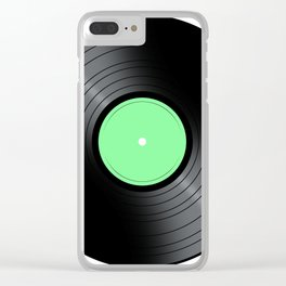 Music Record Clear iPhone Case