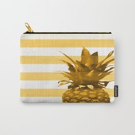 Pineapple with yellow stripes - summer feeling Carry-All Pouch