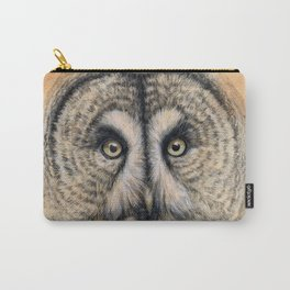 Great Grey Owl g041 Carry-All Pouch