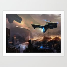 District 9 Art Print