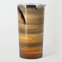 Watching The Setting Sun Travel Mug