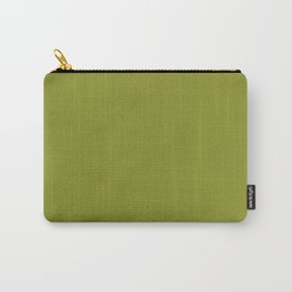 Dark Pastel Green Pepper Stem Fashion Color Trends Spring Summer 2019 Carry-All Pouch