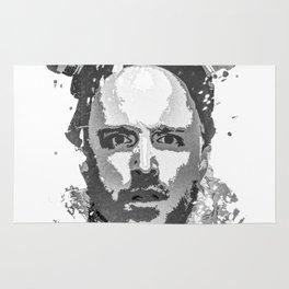 Breaking Bad, Jesse Pinkman splatter painting Rug