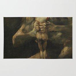 Saturn Devouring His Son - Goya Rug