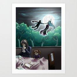 Moonlight-12 Art Print