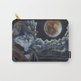 Sea Captain Cat Carry-All Pouch
