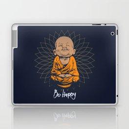 Be Happy Little Buddha Laptop & iPad Skin