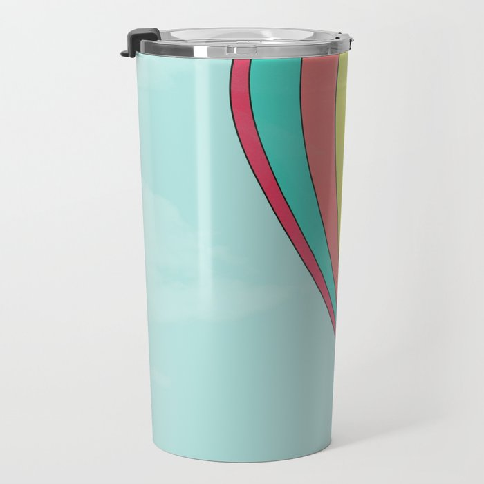 IT'S TIME TO EXPLORE- HOT AIR BALLOON Travel Mug