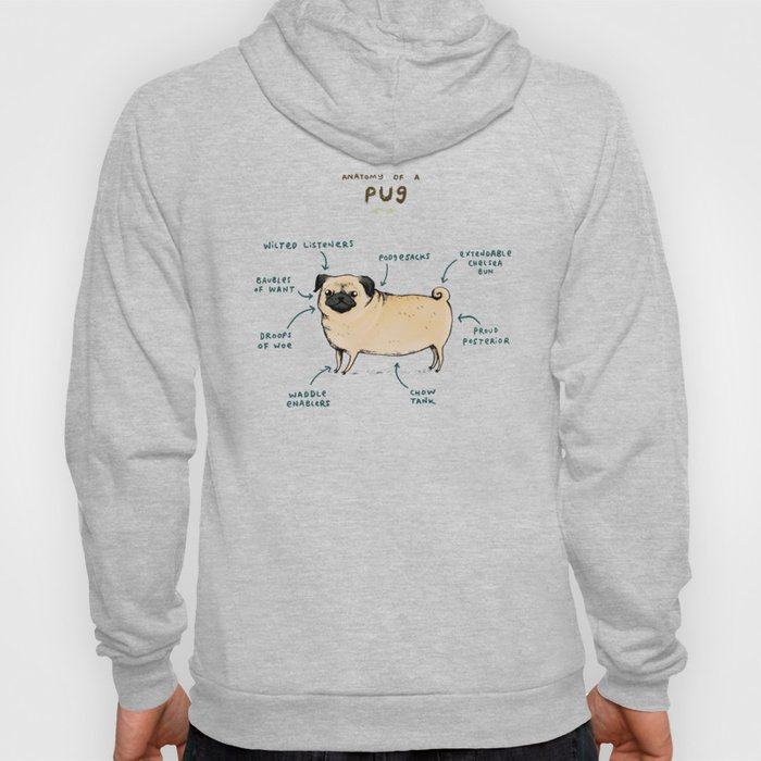 Anatomy of a Pug Hoody