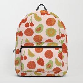 Summer Farmers Market Print Backpack