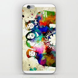 The Chili Peppers Grunge iPhone Skin