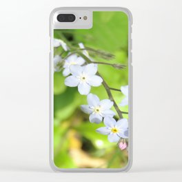 Malvern Bloom Clear iPhone Case