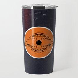 Vinyl Record Art & Design | World Post Travel Mug