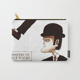 The Ministry of Silly Walks Carry-All Pouch