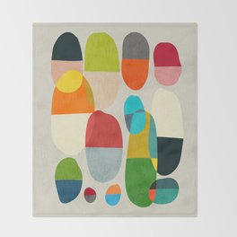 Jagged little pills Throw Blanket