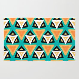 Indian Triangles Rug