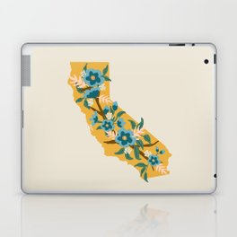 The Golden State of Flowers Laptop & iPad Skin