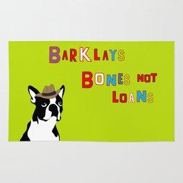 Bones Not Loans Rug