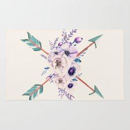 Floral Arrows Rug