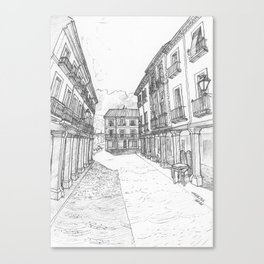 Alcalá Calle Mayor Canvas Print