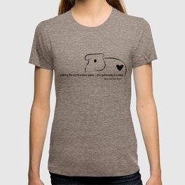 the logo. T-shirt