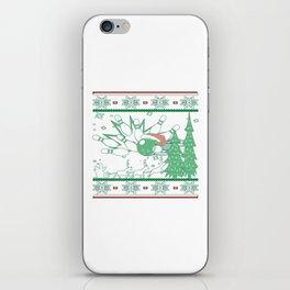 Bowling Christmas iPhone Skin
