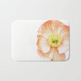 Pink Poppy No. 3 | Flower Photograph Bath Mat