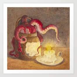 Out of the Jar, Into the World Art Print
