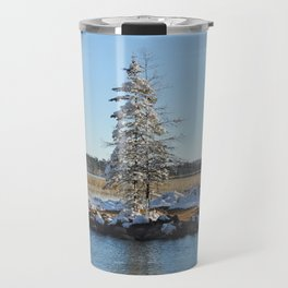 Far end of the Headwaters Travel Mug