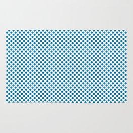 Methyl Blue Polka Dots Rug