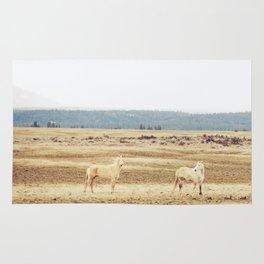 Two Oregon Horses Rug