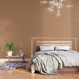 "Brown camel ""Butterum"" Pantone color Wallpaper"
