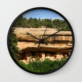 An Ancient Settlement Wall Clock