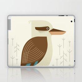 Laughing Kookaburra, Bird of Australia Laptop & iPad Skin