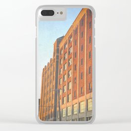 DETROIT STRONG Clear iPhone Case