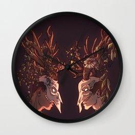 All My Friend Are Heathens Wall Clock