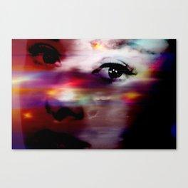 Burning Eyes 01 Canvas Print
