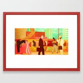 Indonesian Ambush Framed Art Print