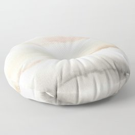 Origin Neutral Watercolor Wash Floor Pillow