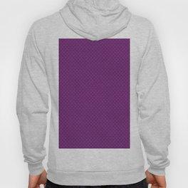 Purple Scales Pattern Hoody