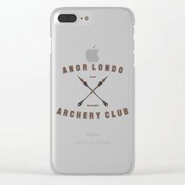 Anor Londo Archery Club Clear iPhone Case