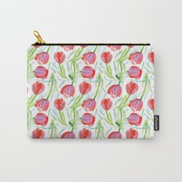 Tulip Field Carry-All Pouch