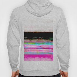 abstract landscape colorful modern painting Hoody
